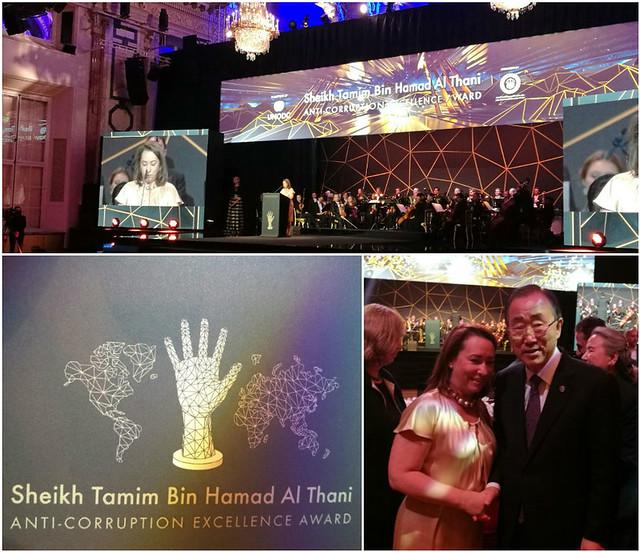 Se celebra en Viena la entrega del Premio a la Excelencia Anticorrupción