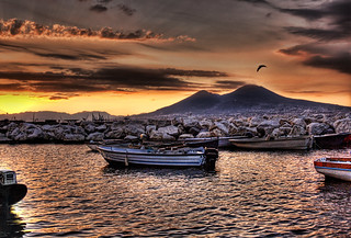 Morning Seagull over Vesuvius | by Stuck in Customs