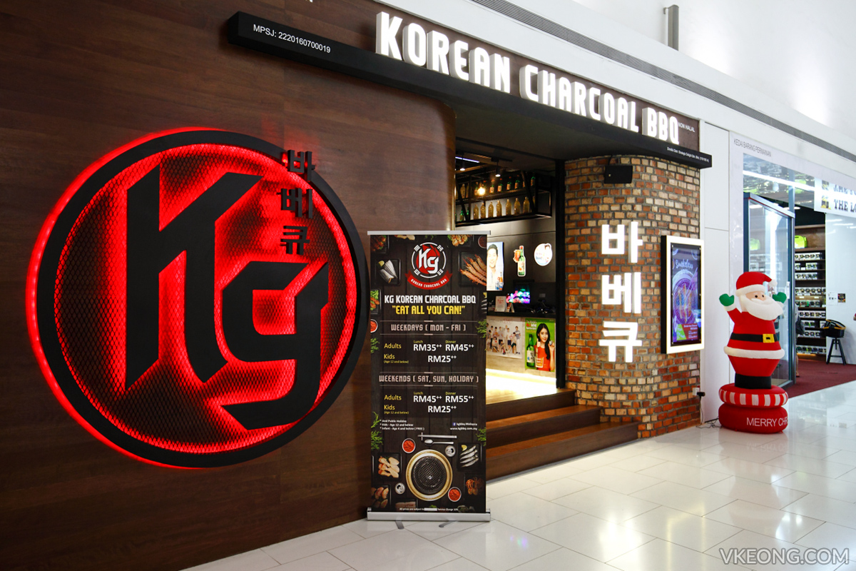 KG Korean Charcoal BBQ Buffet Damen USJ