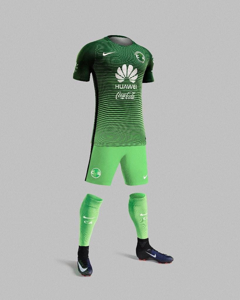 6e7f9a951c América usará  por segunda vez en su historia  un uniforme verde
