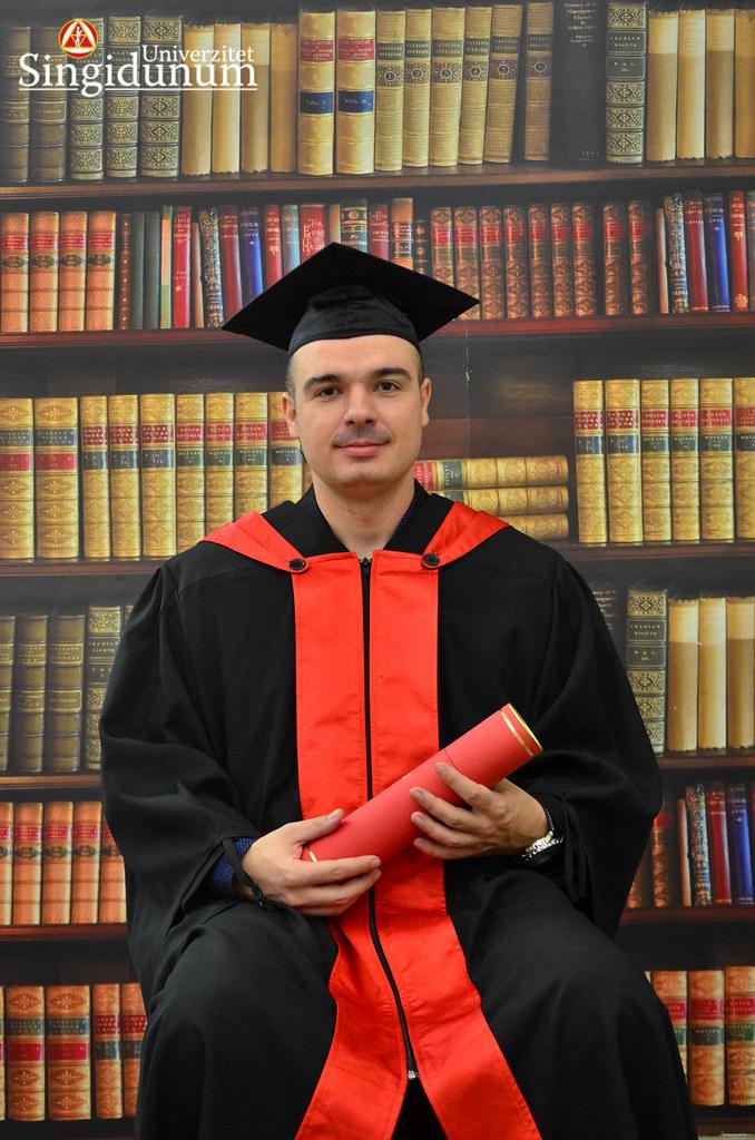 Svecana dodela diploma - Biblioteka Doktorske studije 2017 -2