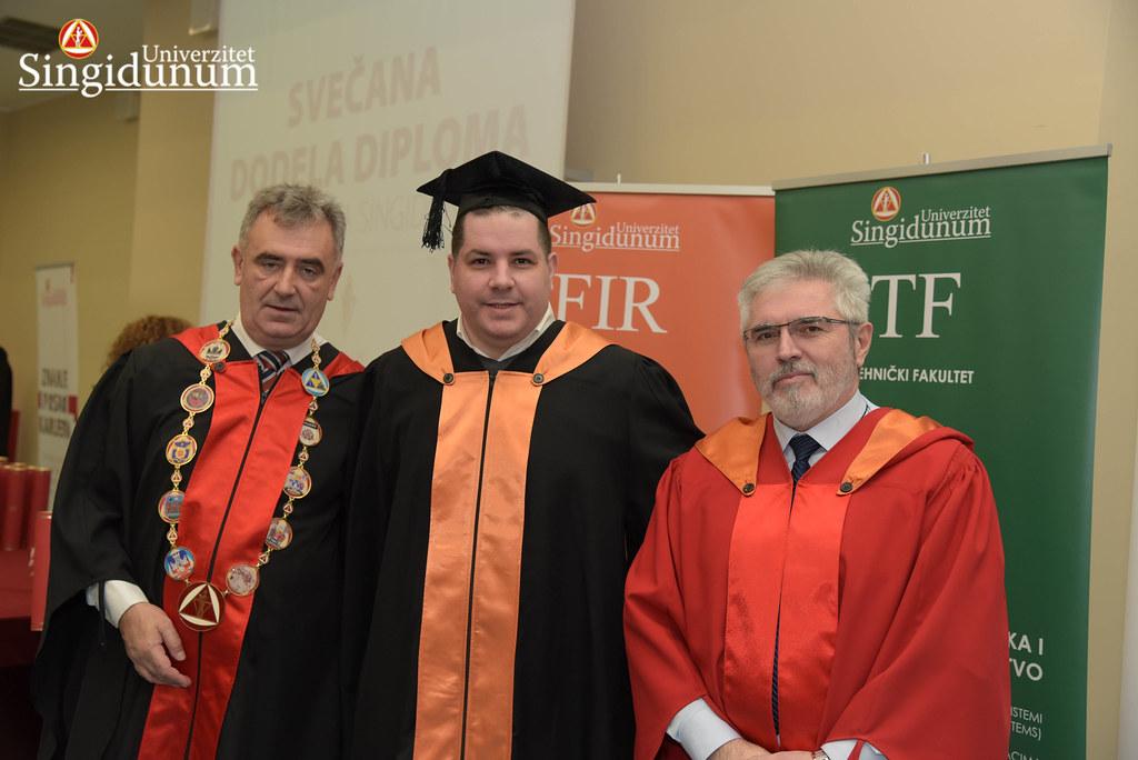 Svecana dodela diploma - FIR I TF - Amfiteatar - 2017 - 7