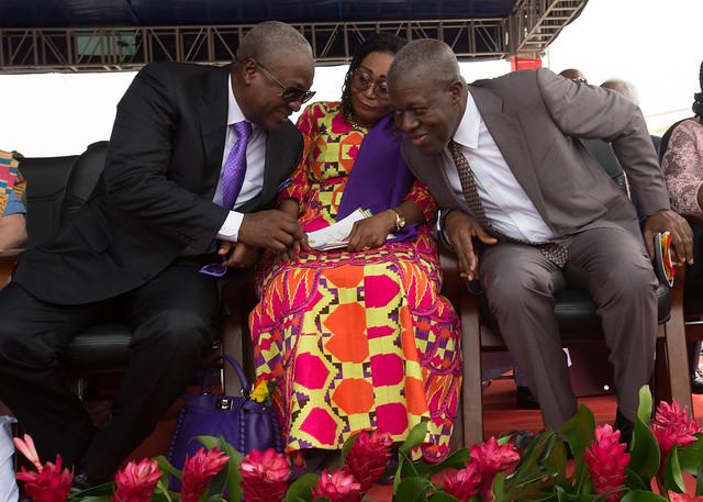 President John Mahama attends the inauguration of his successor, President Nana Addo Dankwa Akuffo Addo at the Independence Square