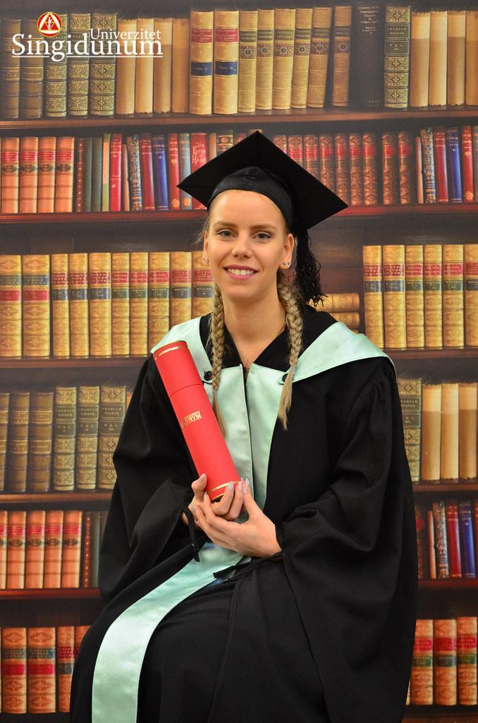 Svecana dodela diploma - Biblioteka FTHM 2017 -20