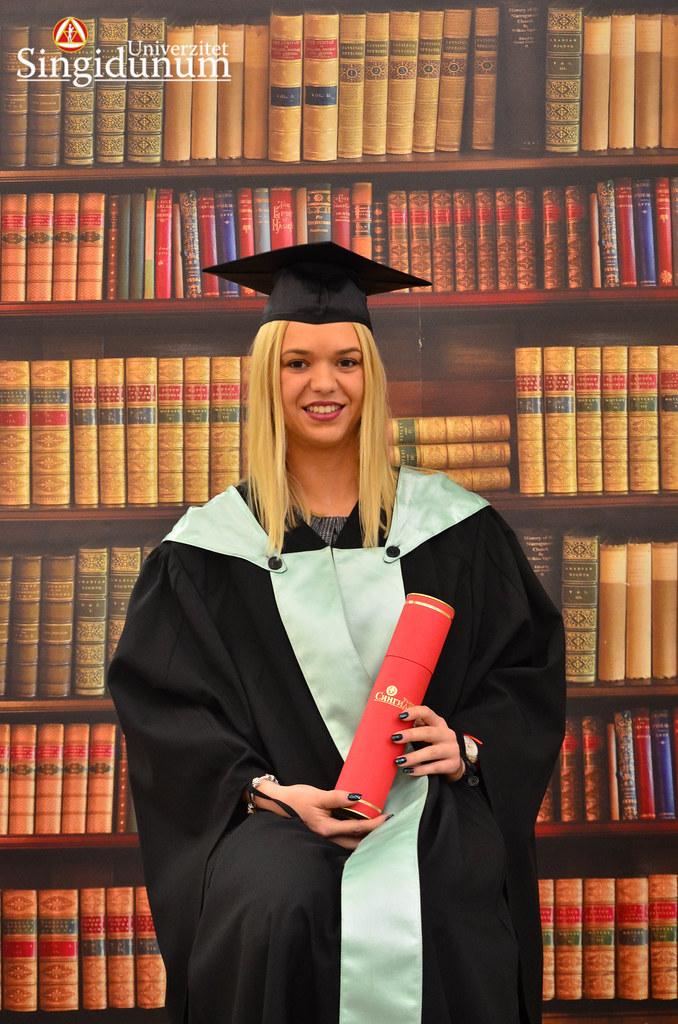 Svecana dodela diploma - Biblioteka FTHM 2017 -4