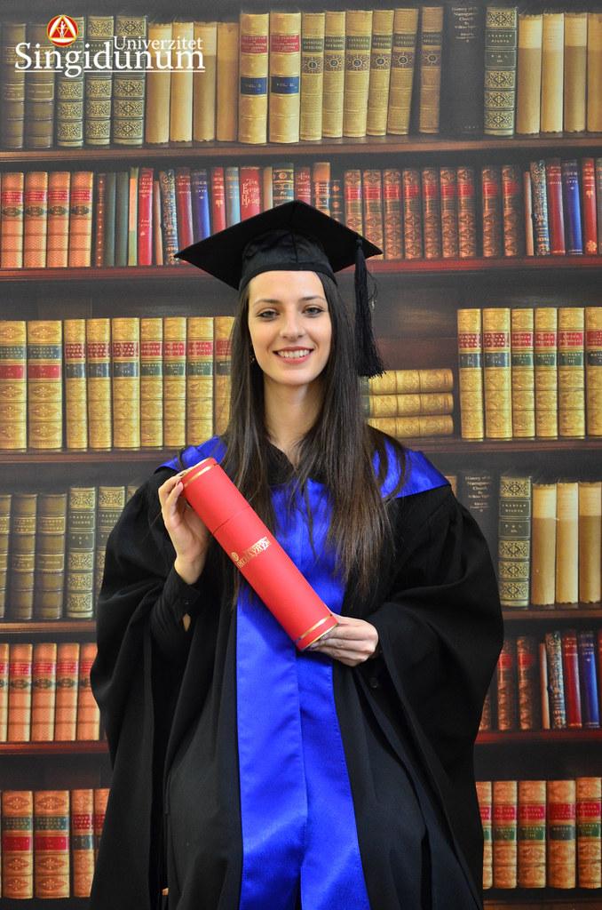 Svecana dodela diploma - Biblioteka PFB 2017 -16