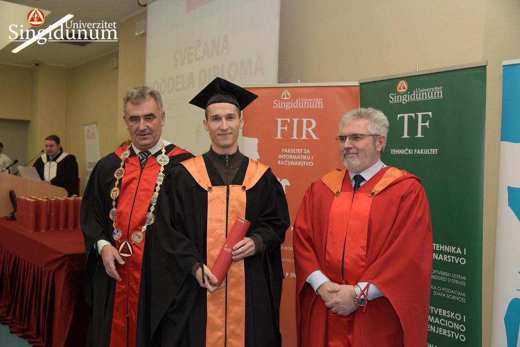 Svecana dodela diploma - FIR I TF - Amfiteatar - 2017 - 9
