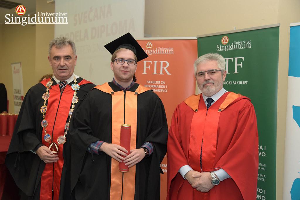 Svecana dodela diploma - FIR I TF - Amfiteatar - 2017 - 3