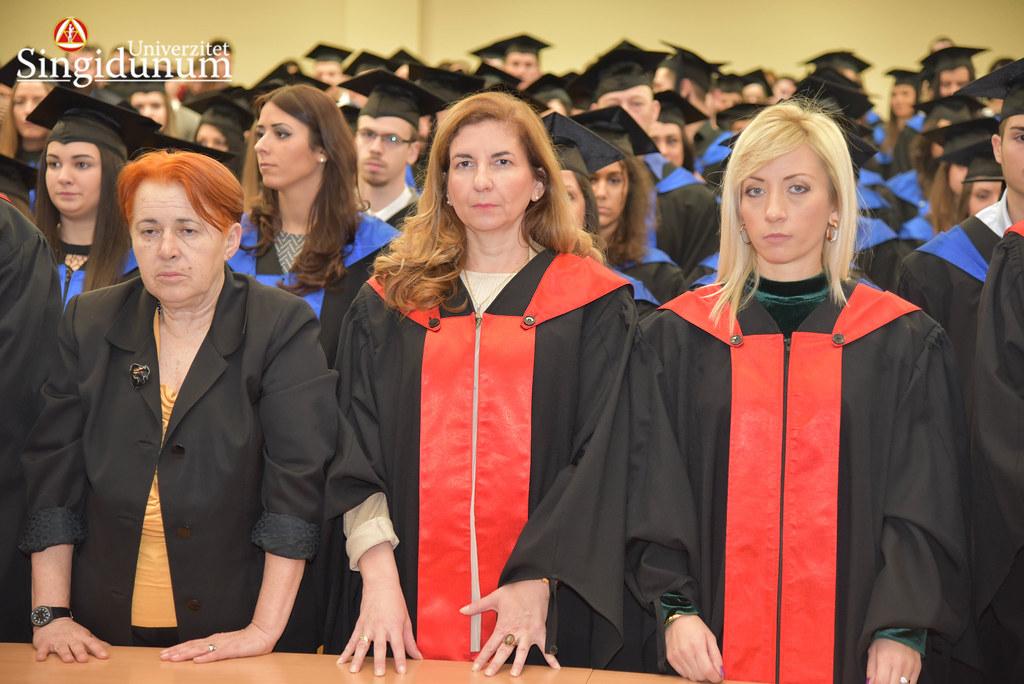 Svecana dodela diploma - Amfiteatar - PFB - 2017 - 200