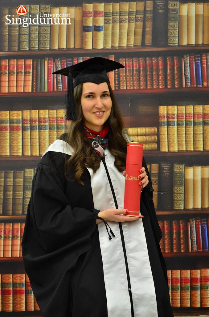 Svecana dodela diploma - Biblioteka Master studije 2017 -25