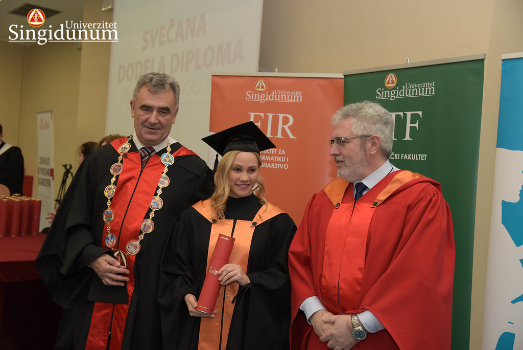Svecana dodela diploma - FIR I TF - Amfiteatar - 2017 - 1