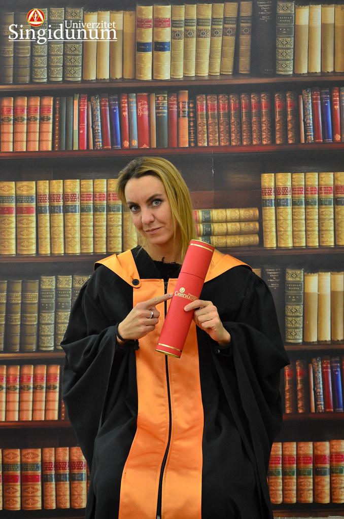 Svecana dodela diploma - Biblioteka FFKMS 2017 -2