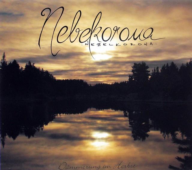 Nebelkorona Dammerung im Herbst / Blatter im Wind Transparent vinyl Limited Edition