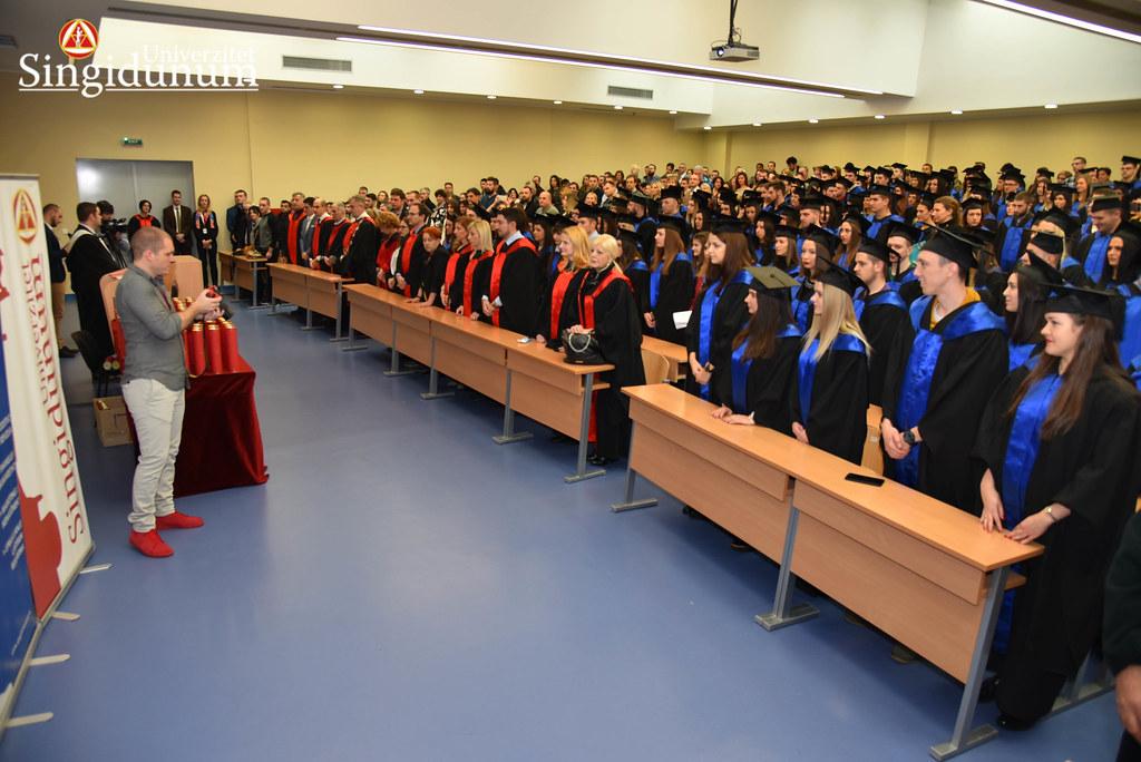 Svecana dodela diploma - Amfiteatar - PFB - 2017 - 22