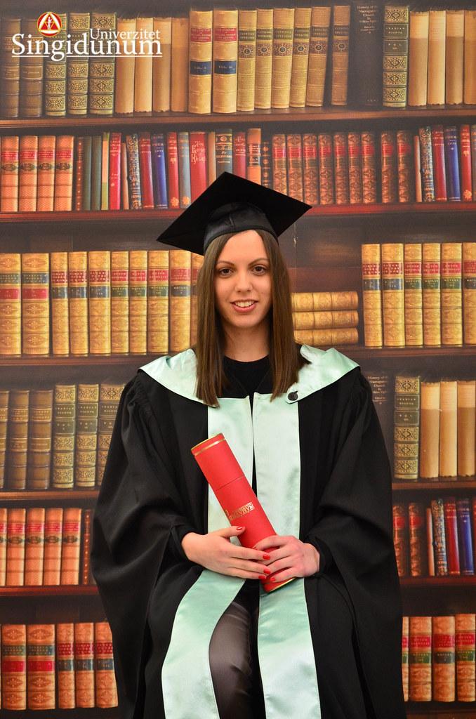 Svecana dodela diploma - Biblioteka FTHM 2017 -9