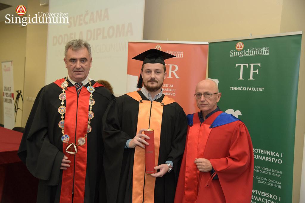 Svecana dodela diploma - FIR I TF - Amfiteatar - 2017 - 42
