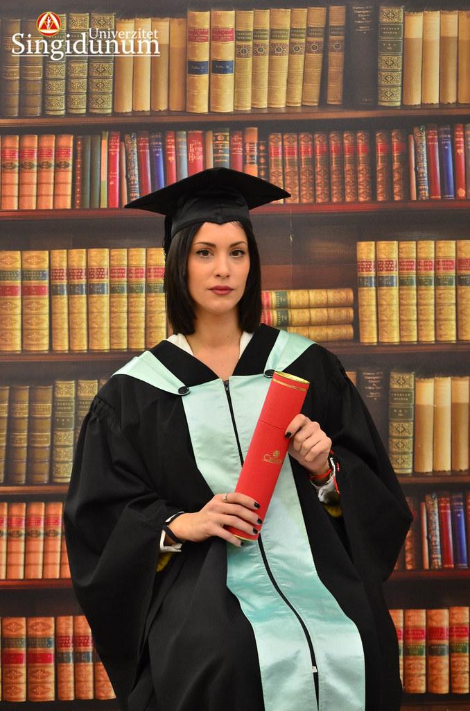 Svecana dodela diploma - Biblioteka FTHM 2017 -21