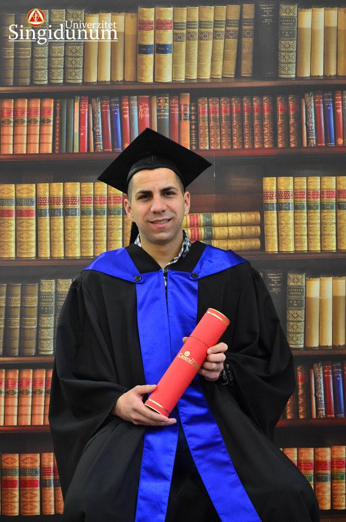 Svecana dodela diploma - Biblioteka PFB 2017 -6