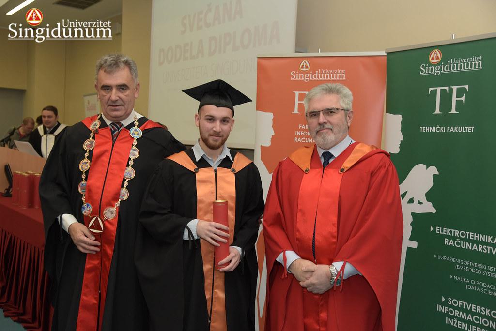 Svecana dodela diploma - FIR I TF - Amfiteatar - 2017 - 18