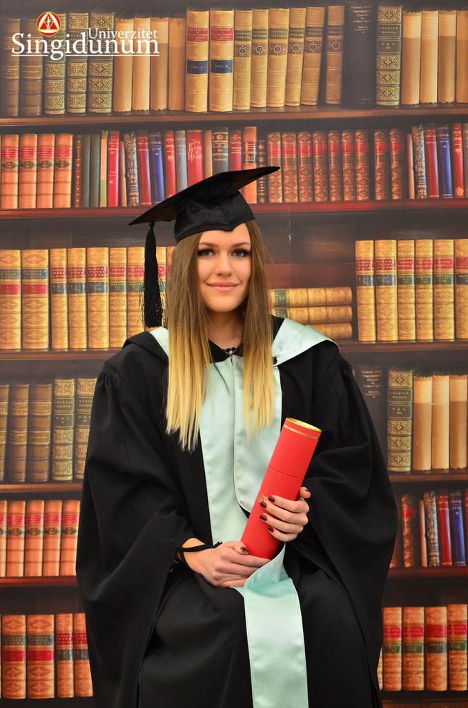 Svecana dodela diploma - Biblioteka FTHM 2017 -11