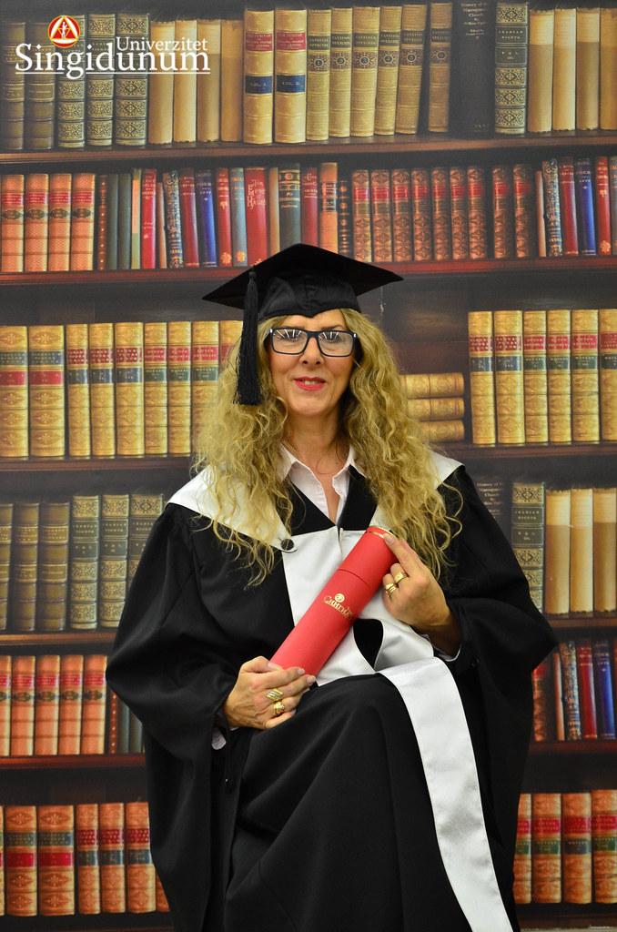 Svecana dodela diploma - Biblioteka Master studije 2017 -6