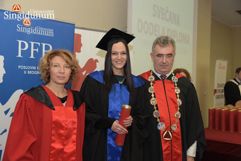 Svecana dodela diploma - Amfiteatar - PFB - 2017 - 1