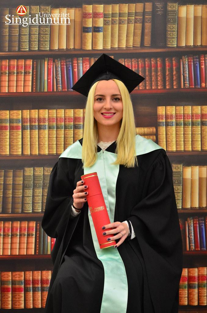 Svecana dodela diploma - Biblioteka FTHM 2017 -22