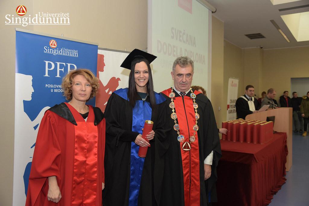 Svecana dodela diploma - Amfiteatar - PFB - 2017 - 2