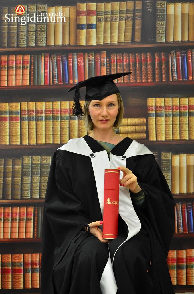 Svecana dodela diploma - Biblioteka Master studije 2017 -21
