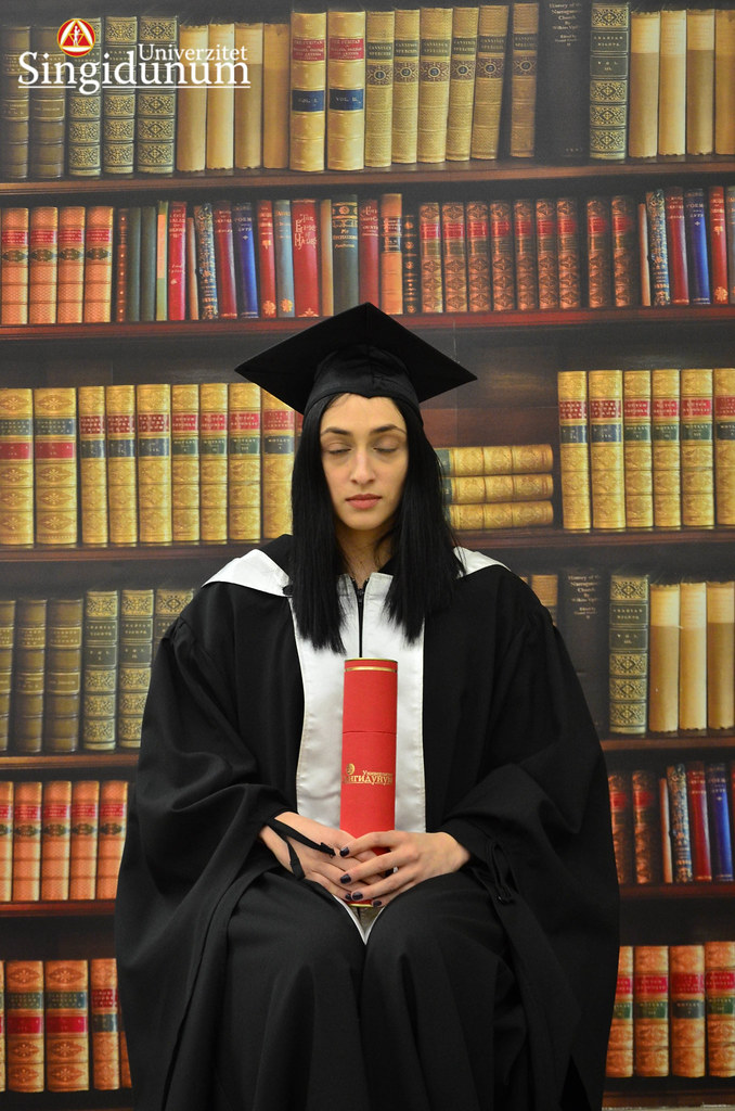 Svecana dodela diploma - Biblioteka Master studije 2017 -20