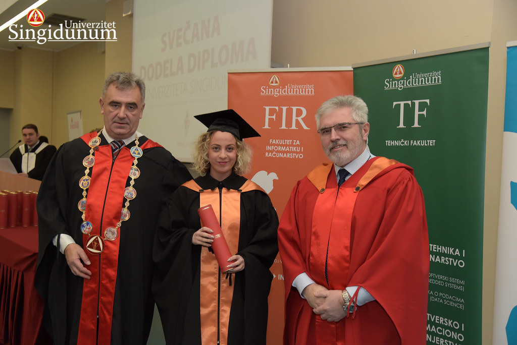 Svecana dodela diploma - FIR I TF - Amfiteatar - 2017 - 10