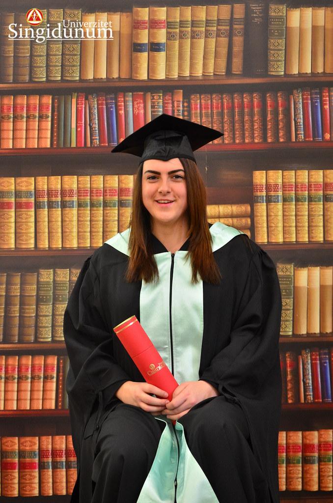 Svecana dodela diploma - Biblioteka FTHM 2017 -14