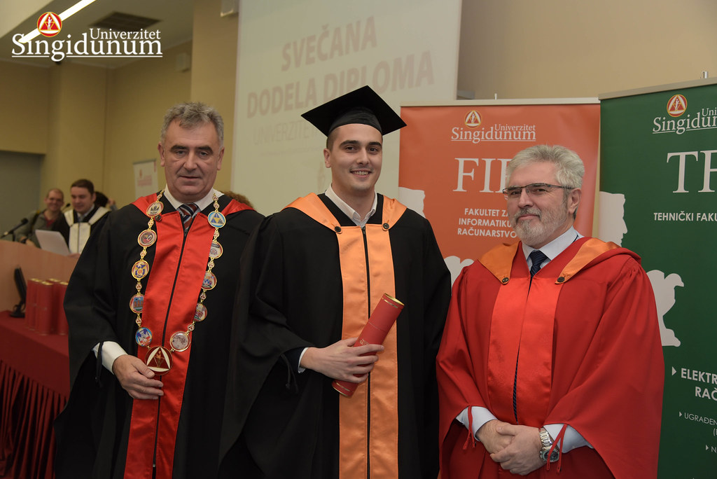 Svecana dodela diploma - FIR I TF - Amfiteatar - 2017 - 16