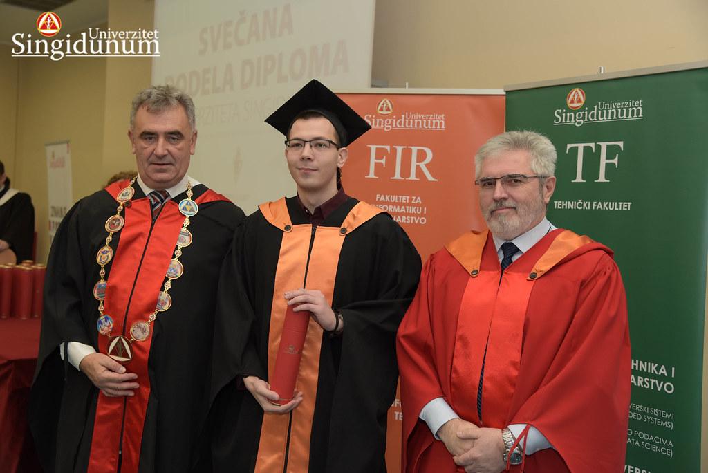 Svecana dodela diploma - FIR I TF - Amfiteatar - 2017 - 6