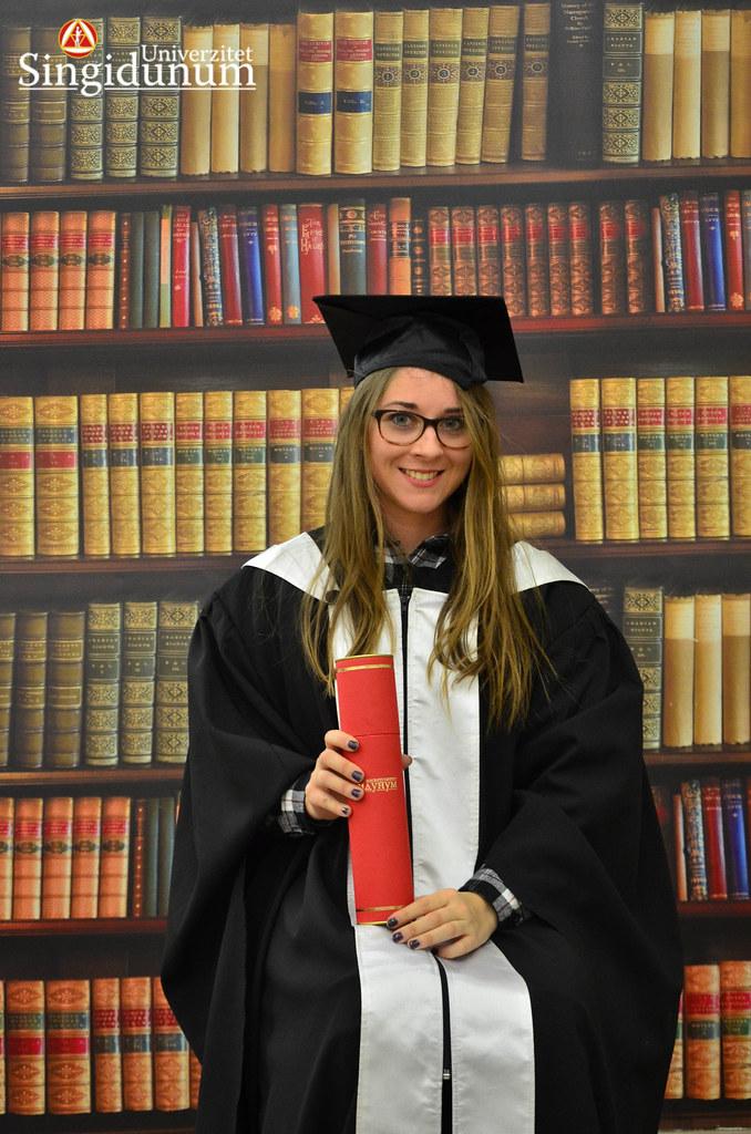 Svecana dodela diploma - Biblioteka Master studije 2017 -5