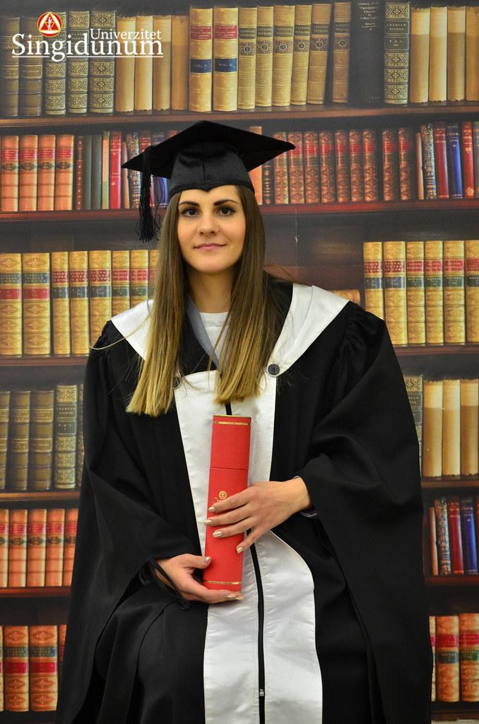 Svecana dodela diploma - Biblioteka Master studije 2017 -14