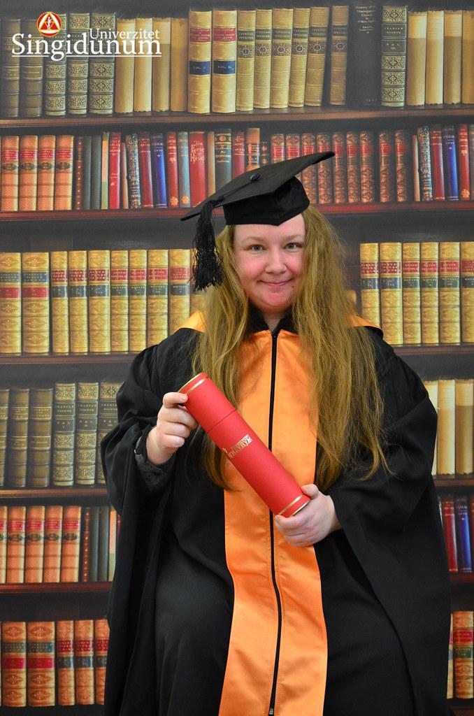 Svecana dodela diploma - Biblioteka FIR I TF 2017 -17