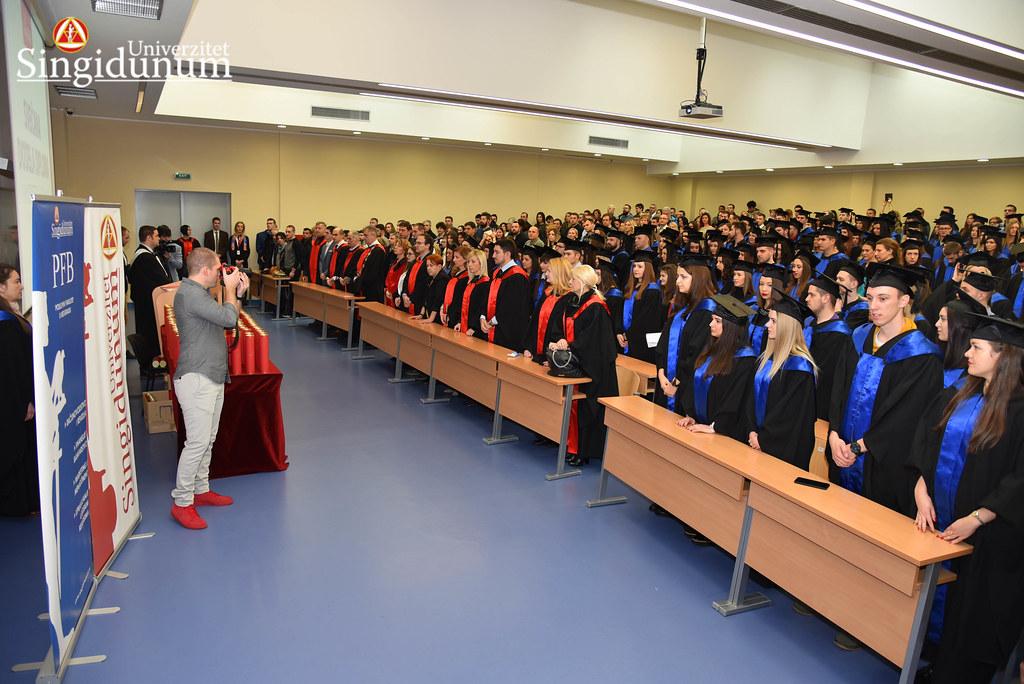 Svecana dodela diploma - Amfiteatar - PFB - 2017 - 44