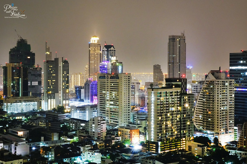 zoom at sathorn night view bangkok