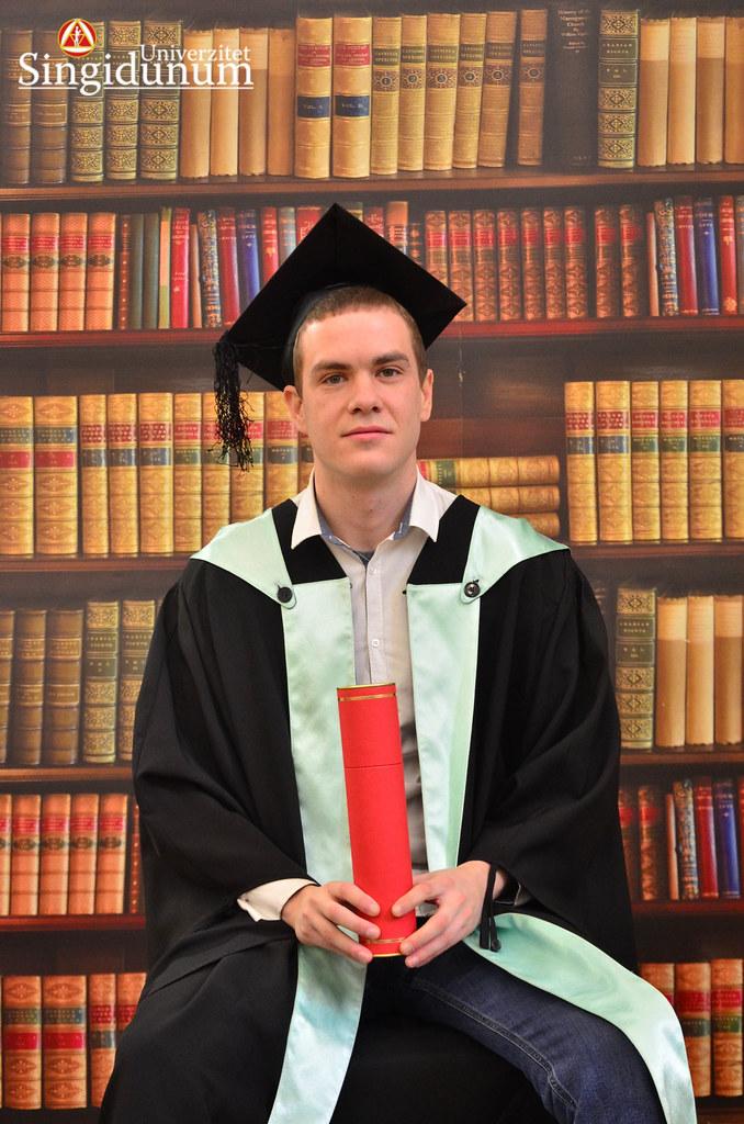 Svecana dodela diploma - Biblioteka FTHM 2017 -8