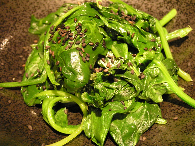 Spinach and Sesame