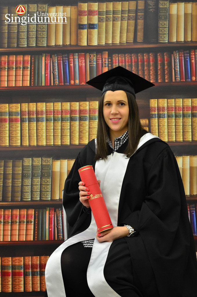 Svecana dodela diploma - Biblioteka Master studije 2017 -4