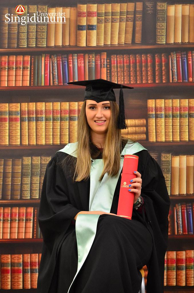 Svecana dodela diploma - Biblioteka FTHM 2017 -16