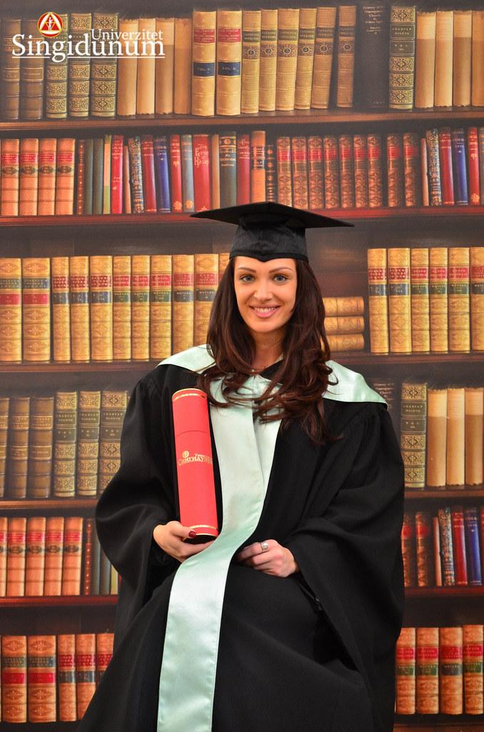 Svecana dodela diploma - Biblioteka FTHM 2017 -1