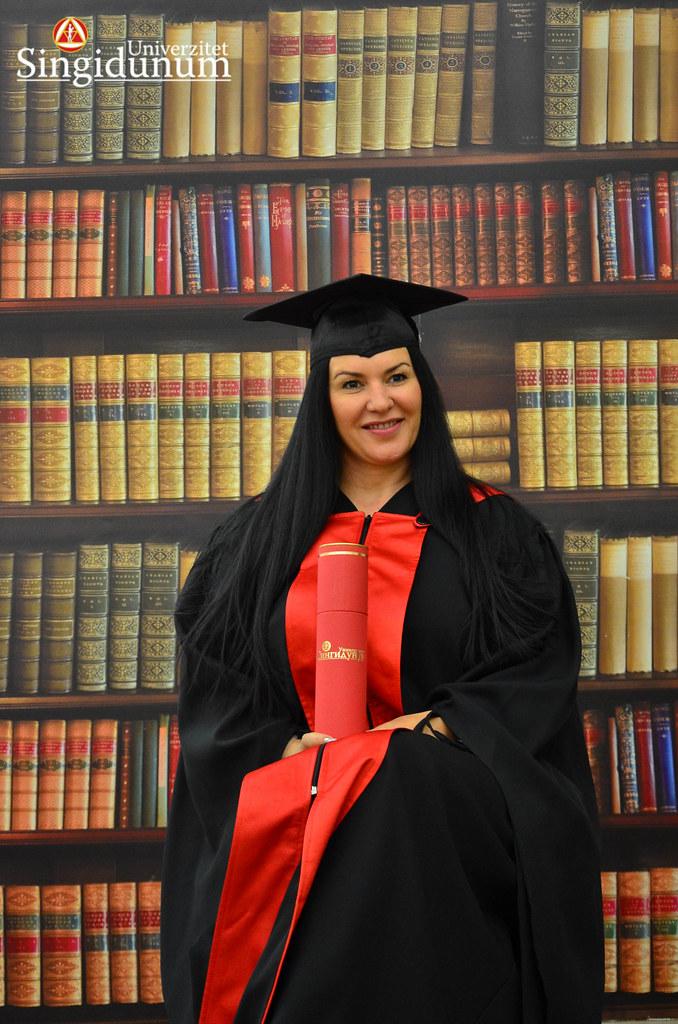 Svecana dodela diploma - Biblioteka Doktorske studije 2017 -8
