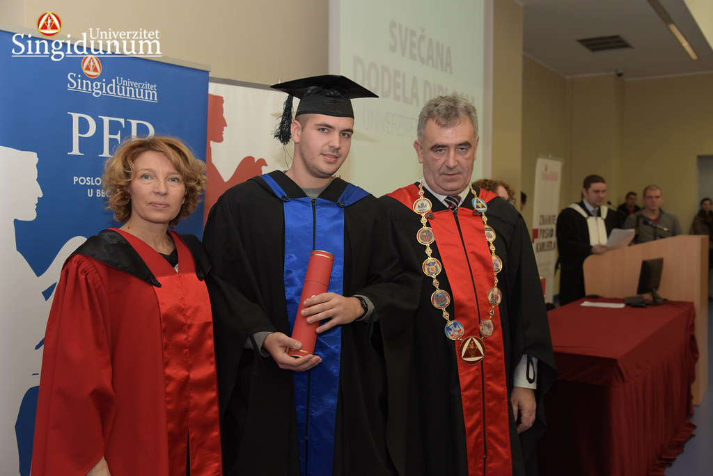 Svecana dodela diploma - Amfiteatar - PFB - 2017 - 100
