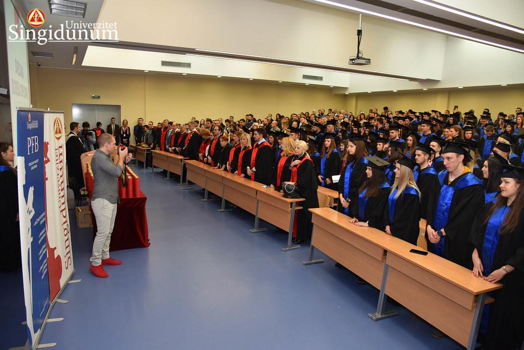Svecana dodela diploma - Amfiteatar - PFB - 2017 - 33