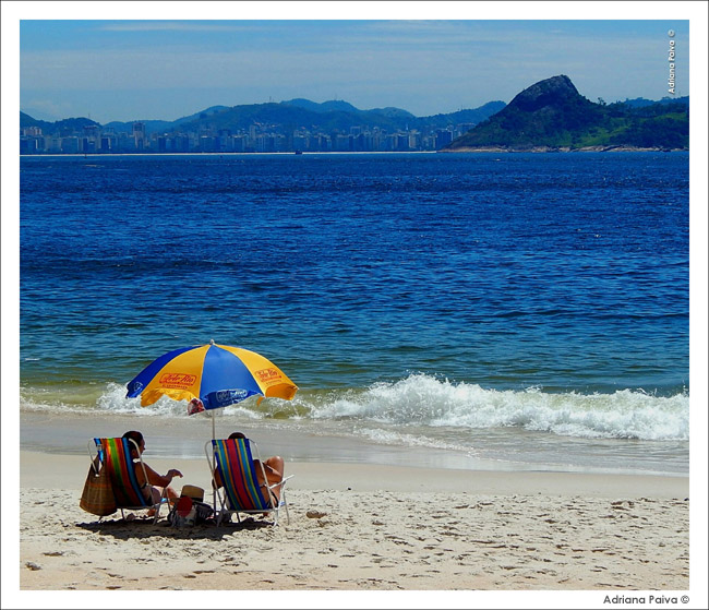 Praia de Fora no Forte São João