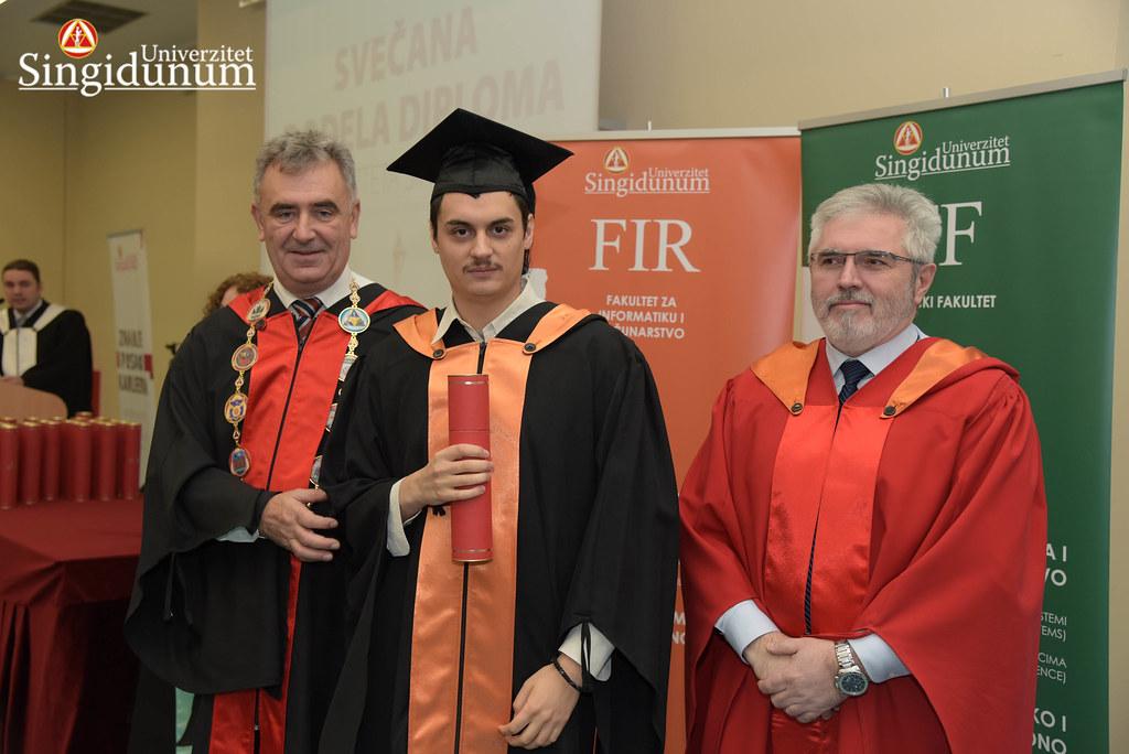 Svecana dodela diploma - FIR I TF - Amfiteatar - 2017 - 2