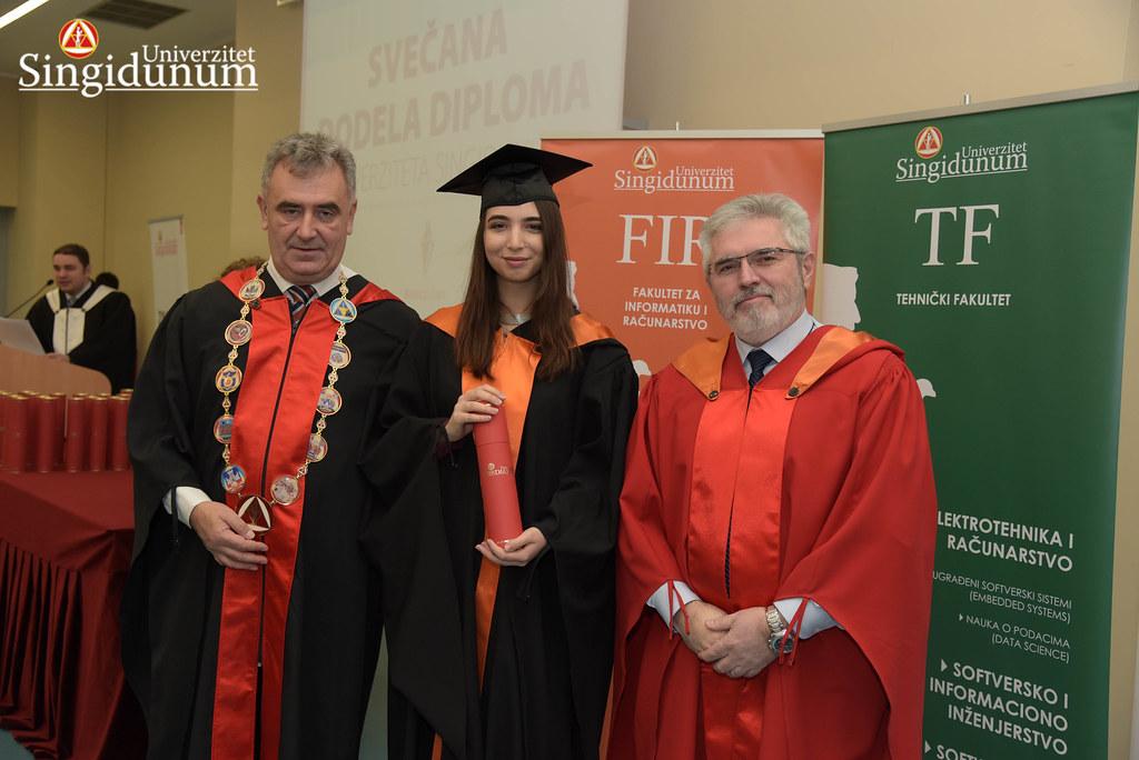 Svecana dodela diploma - FIR I TF - Amfiteatar - 2017 - 13